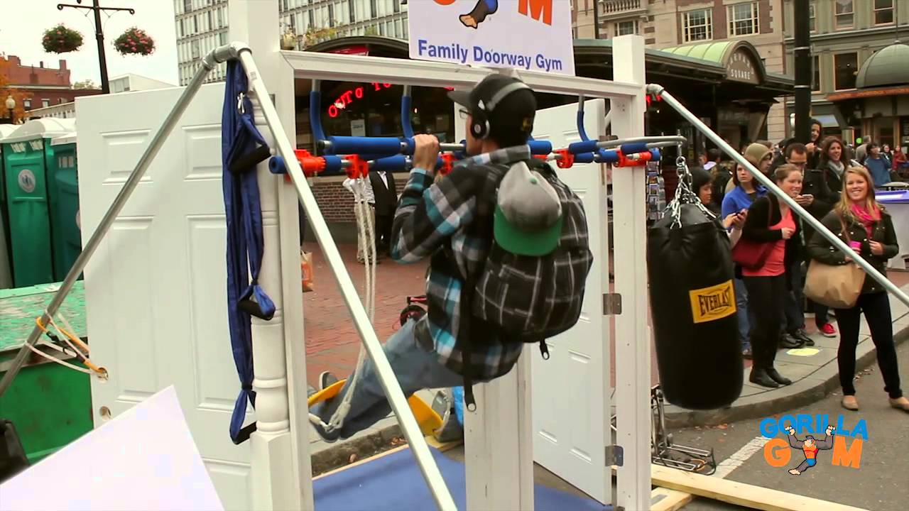 Gorilla Gym Family Doorway Gym Youtube