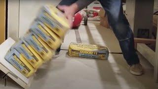 Wide Floating Shelf Strength Tests