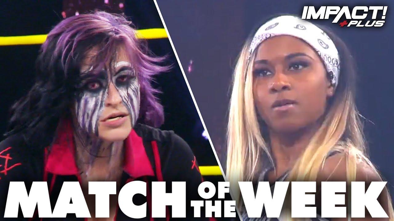 Download Rosemary & Havok vs Fire 'N Flava: FULL MATCH (Slammiversary 2021) | IMPACT Wrestling Full Matches