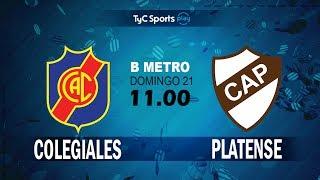Colegiales vs Club Atletico Pla. full match