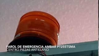 Farol de Emergencia Ambar PT255TSMA