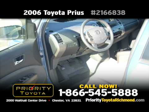 Priority Toyota 2006 Prius Free Oil Changes