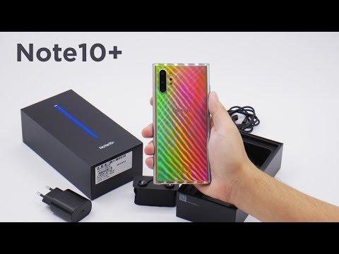 Samsung Galaxy Note 10+! Smartfonlarning dodasi! Videoda sovg'a bor!
