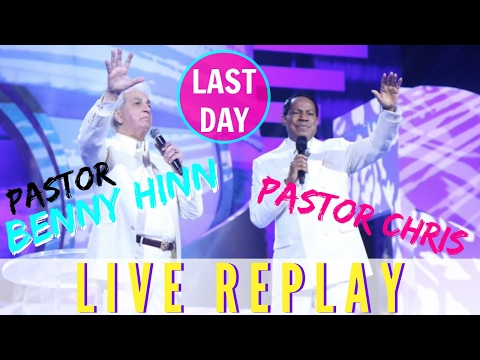 Pastor BENNY HINN last day in LAGOS - POWERFUL MUST WATCH (DAY 3)