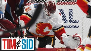 Who's Shown Up For Flames Besides Mike Smith?   Tim and Sid