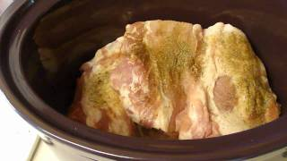 Perfect Pulled Pork In A Slow Cooker