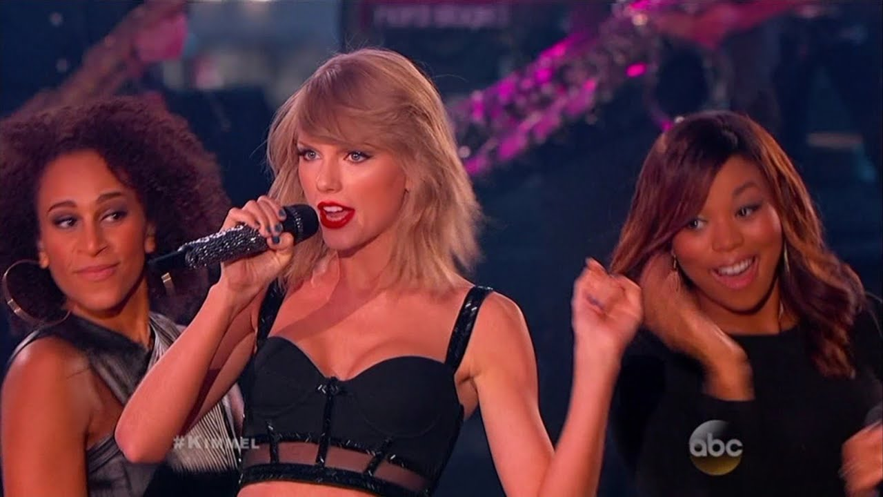 Taylor Swift - Shake It Off (Live at Jimmy Kimmel 2014)
