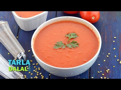 Healthy Tomato Soup (Low Calorie) by Tarla Dalal