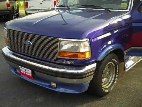 1996 Ford F150 Flareside Jayco Custom Frank Myers Auto In Winston