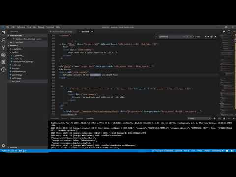 How to Build A Spider With Python (Web Scraping) thumbnail