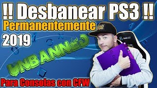 Desbanear PS3 Permanentemente FÁCIL 2019 - MAS FÁCIL IMPOSIBLE