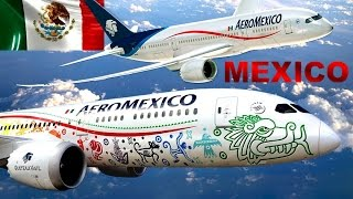 Embajador de México: Avión Quetzalcóatl Dreamliner de AeroMexico