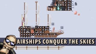 Let's Try: Airships: Conquer the Skies - Airship Battle Game!