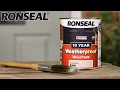 Ronseal 10 Year Weatherproof Exterior Wood Paint