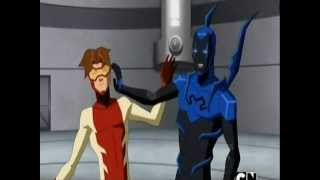 Young Justice Season 2 - Impulse and Blue Beetle Moments Part 2