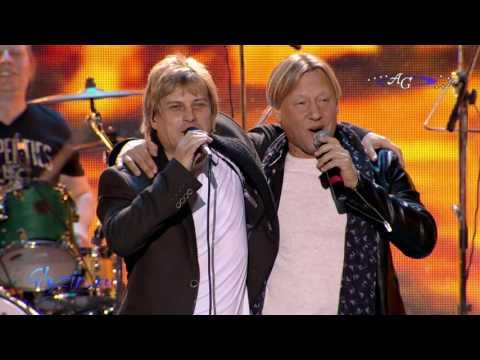 «Бродячие артисты», дуэт Алексей Глызин и Дмитрий Харатьян.