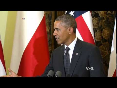 Obama Reassures Europe Allies, Says US No Threat to Russia