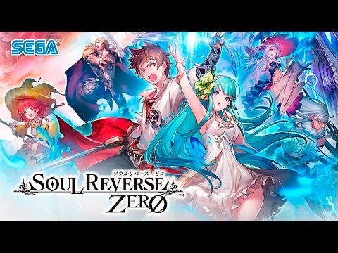 Soul Reverse Zero - Rank 1~11 Gameplay - Android on PC - F2P - JP