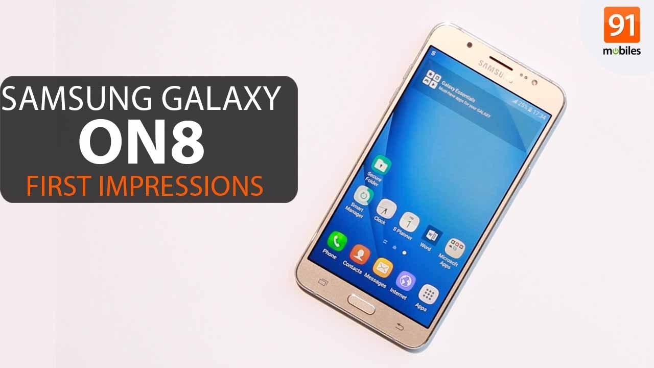 b89870c2e4e Samsung Galaxy On8  First Look