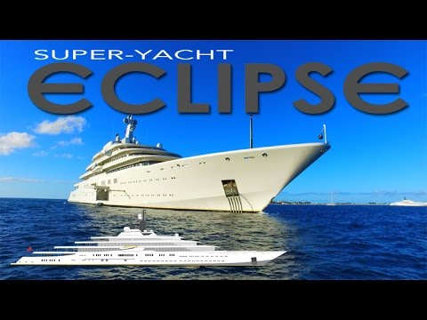 Superyacht abramovich  SuperYacht ECLIPSE ~ Roman Abramovich ~ Second Largest Private ...