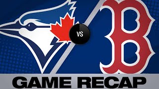 Moreland, Devers propel Sox to walk-off win - 4/11/19