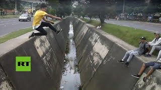 'FAIL' VIRAL: 'Parkour' a la colombiana