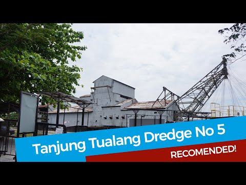 The Last Tin Mining Dredge in Malaysia - Tanjung Tualang No 5 - A Tour
