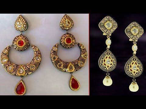 Gorgeous Meenakari Earrings Design