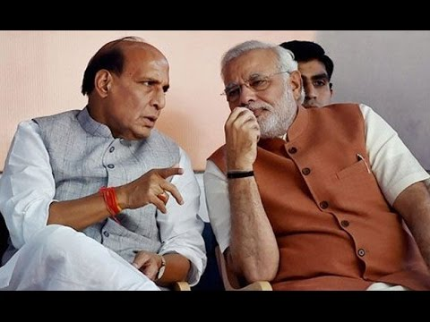 Rajnath Singh to Brief PM Narendra Modi on Kashmir Issue
