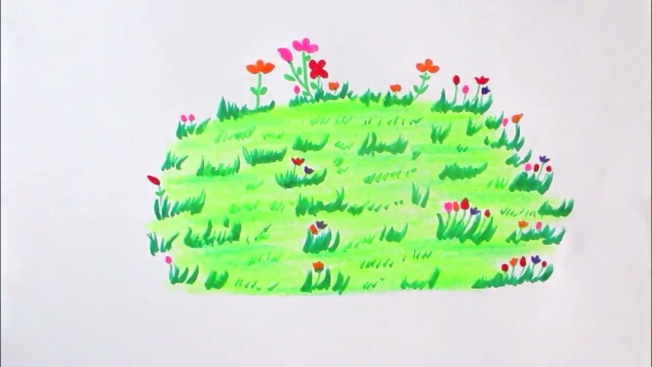 How to draw flower grass scenery drawing channel64 youtube how to draw flower grass scenery drawing channel64 ccuart Images