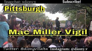 Blue Slide Park, Pittsburgh - Mac Miller Vigil -  Diony's Vlog