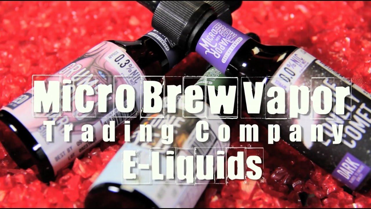 Micro Brew Vapor e-liquids ~Premium Liquids~ (E-Juice Review)