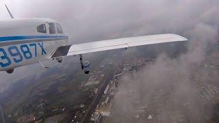 Перелет Из Франции В Германию На Маленьком Частном Самолете (Hd)