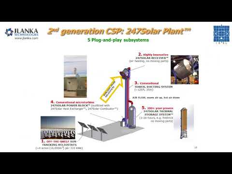 A lower-cost, next-generation Concentrating Solar Power (CSP) systems