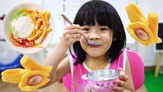 Sữa Chua Mít Các Bạn Đã Ăn Chưa ❤ AnAn ToysReview TV ❤