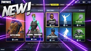 'NOUVEAU' FORTNITE ITEM SHOP COUNTDOWN - 2 septembre - NEW SKINS/EMOTES?! (Fornite Battle Royale) Bn