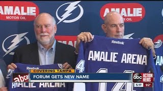 Tampa Bay Times Forum renamed