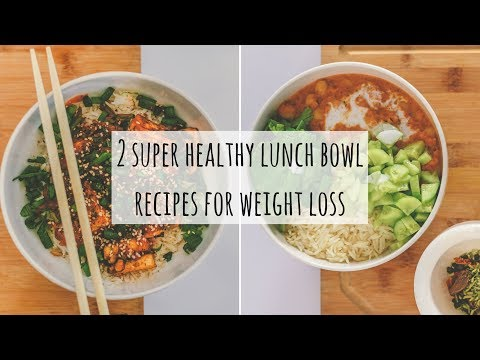 2 Healthy Veg Lunch Recipes Indian For Weight Loss| Make Restaurant Style Healthy Lunch Bowls @ Home