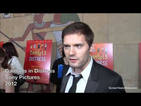 Hugo Becker HD Interivew  Damsels in Distress