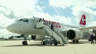 طائرات بوينغ 737 ماكس تشد انظار زوار معرض فارنبورو الدولي لل