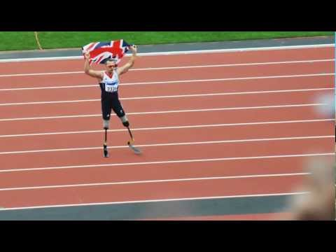 Richard Whitehead T42 200m Final Paralympics 2012 - World record