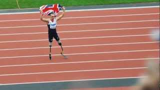 Richard Whitehead T42 200m Final Paralympics 2012 - World record