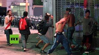 La Policía bonaerense interrumpe festejos tras el River-Boca por incidentes de agresión