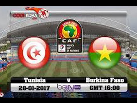 Tunisie Vs Burkina Faso HD live en direct (Summary) 28 01 2017 بث مباشر