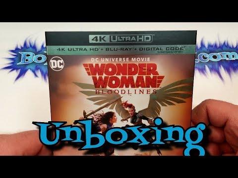 Wonder Woman: Bloodlines 4K UHD Unboxing