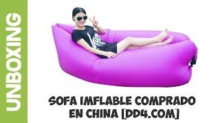 Sillon Inflable comprado en China desde Bolivia [dd4.com]