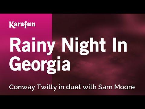 Karaoke Rainy Night In Georgia - Conway Twitty *