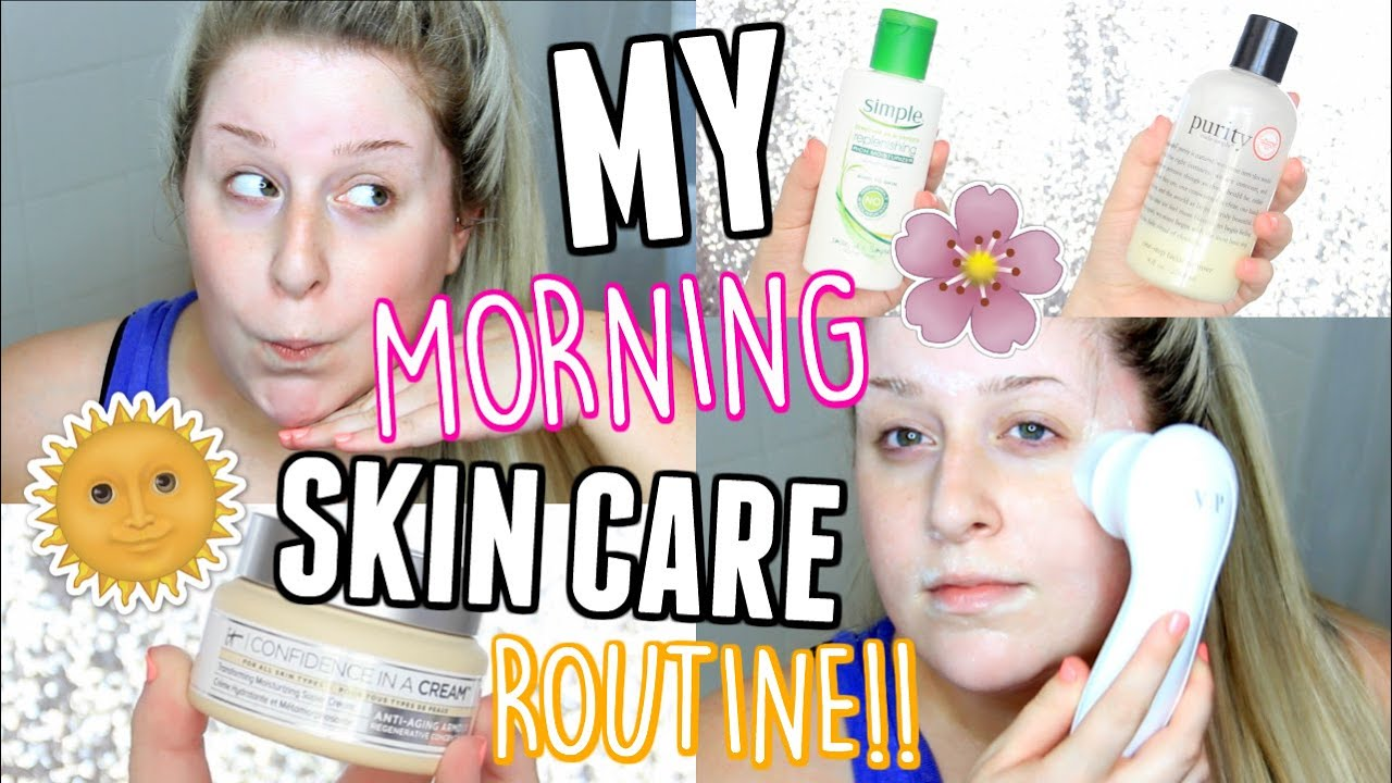 MORNING SKIN CARE ROUTINE + Current Skin Care Favorites!!