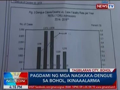 BP: Pagdami ng mga nagkaka-dengue sa Bohol, ikinaaalarma