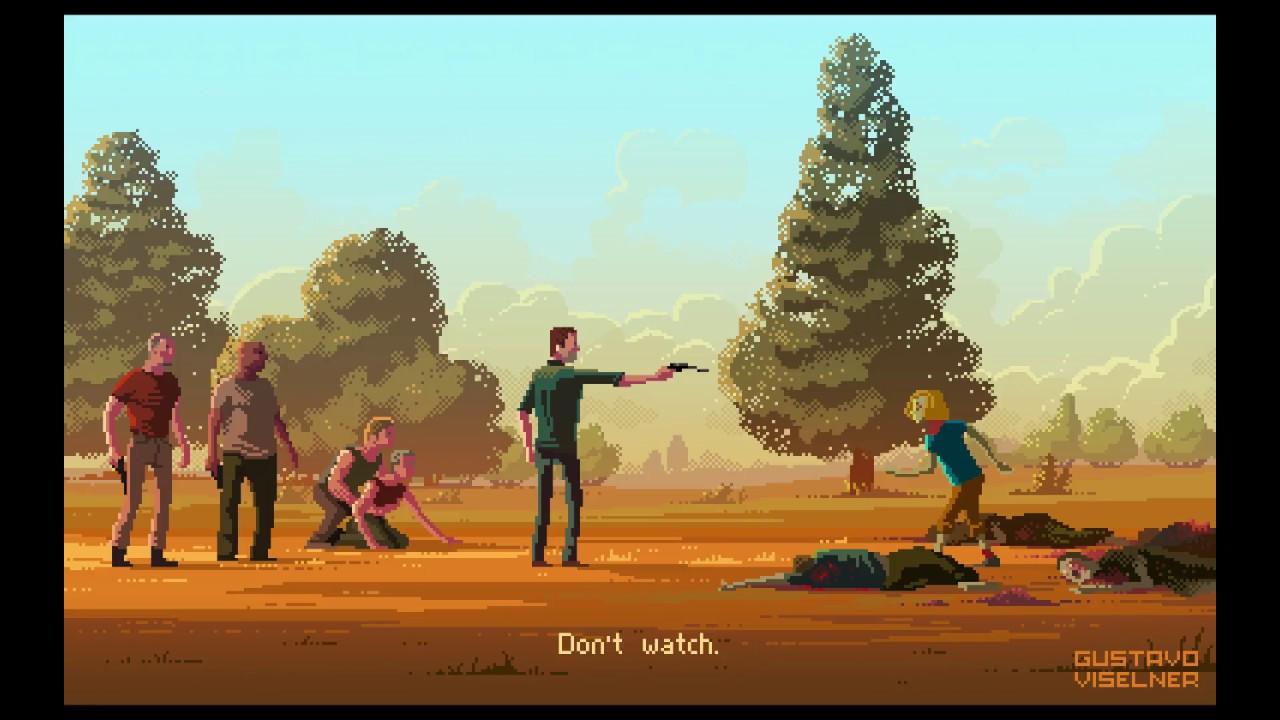 Pixel Art Di Gustavo Viselner Film E Serie Tv A 8 Bit